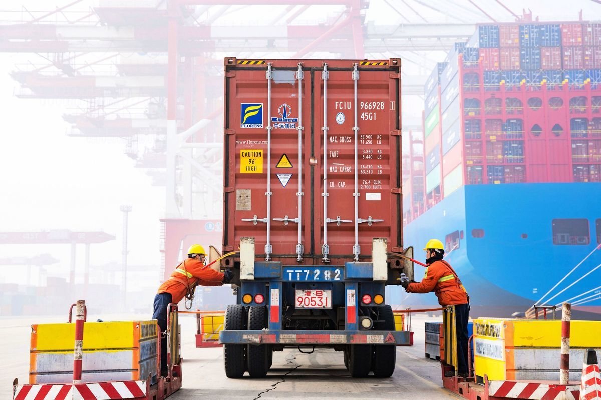 本周,中美貿易戰進入肉博戰,雙方能否在3月1日午夜前達協議,或者出現「有望促成交易」跡象,攸關特朗普總統是否同意習特會及延長停火時限的決定。(STR/AFP/Getty Images)