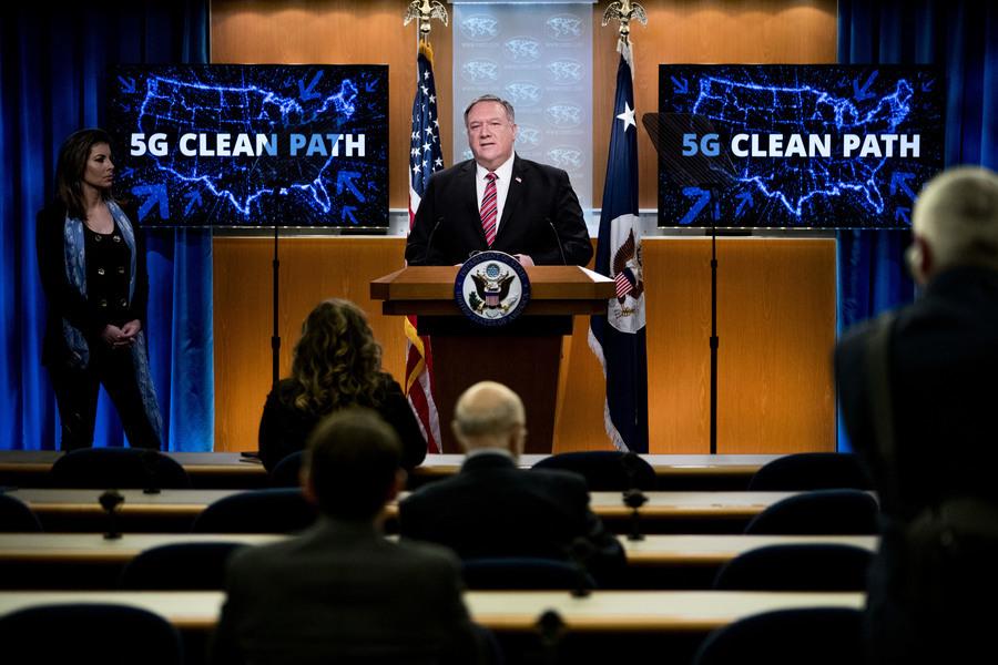 淨網獲成功 特朗普政府終結中共5G擴張野心