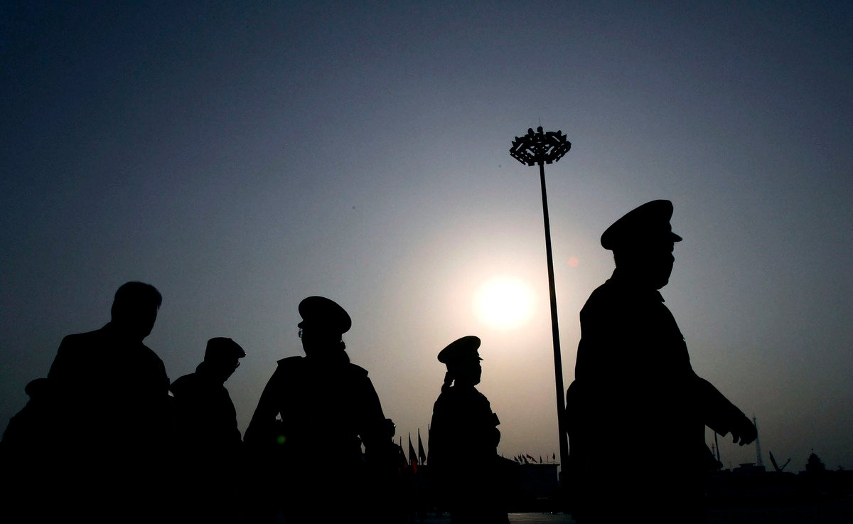 十九大後,中共政法高層出現大變動。政法委高層中的江派勢力遭到深度清洗。(Getty Images)
