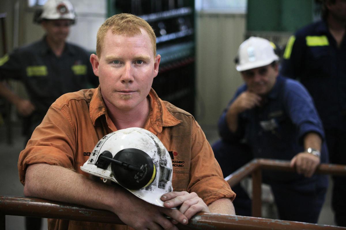 鐵礦石價格高漲支持了西澳經濟的發展,並推動了市場對技術工人的需求。(DAVID HANCOCK/AFP via Getty Images)