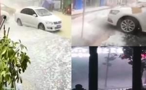 湖南嶽陽現12級大風 貴州連續13天降冰雹