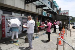 台灣14日增185例本土病例 15例死亡