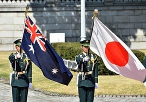 日本駐澳大使誓言加強與澳軍事聯盟 抵禦中共