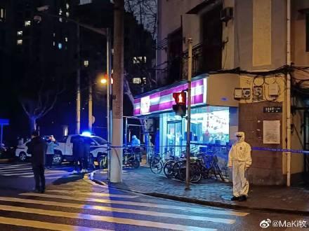 26日晚,上海復興西路成為當晚的微博熱搜詞。圖為復興西路被封。(網絡圖片)