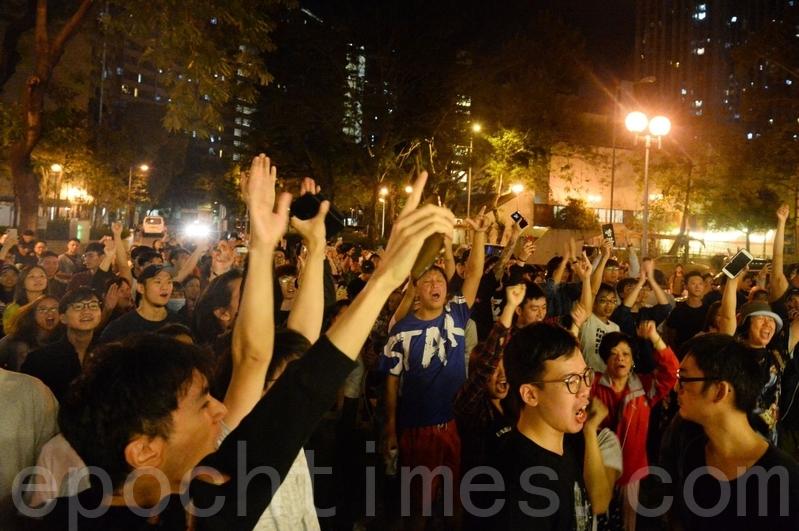 日前,民主派在香港區議會選舉中大獲全勝,親共的建制派慘敗。(宋碧龍/大紀元)