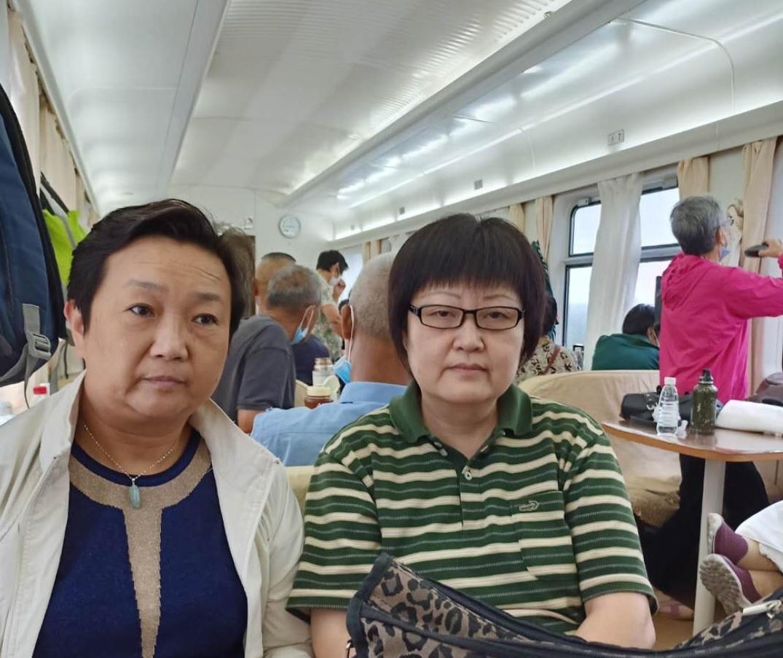 上海37名訪民進京控告領導,半夜被北京警察包抄帶走,連夜遣返。(受訪者提供)