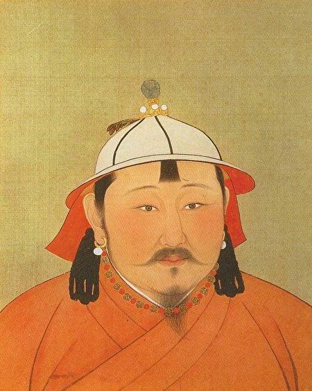 忽必烈駕崩後,太子真金的兒子鐵穆耳繼承大位,是為成宗。圖為元成宗鐵穆耳畫像。(公有領域)
