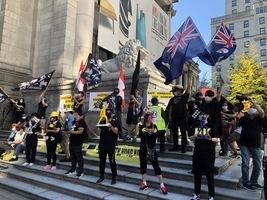 溫哥華逾五百人集會遊行 籲加國制裁中共