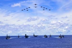 坎貝爾:美中進入激烈競爭時代 美將大規模軍演