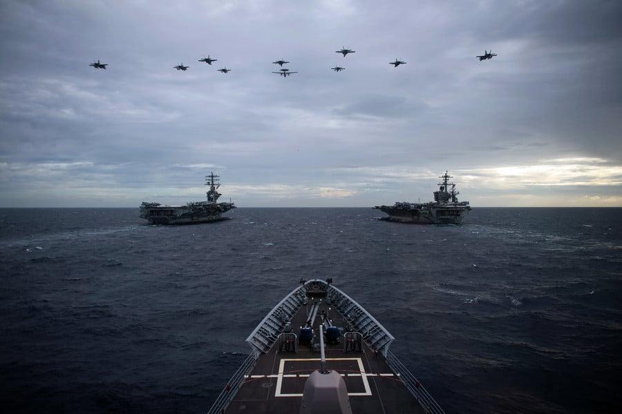 美國中東撤軍 全球軍力重新部署劍指中共