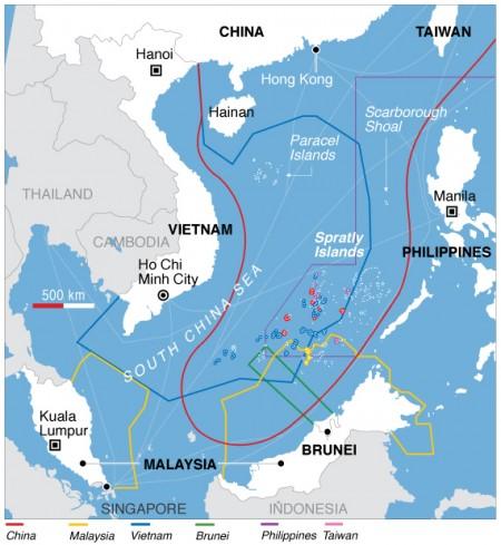 中共將通過修訂案 持續強化對有爭議海域控制