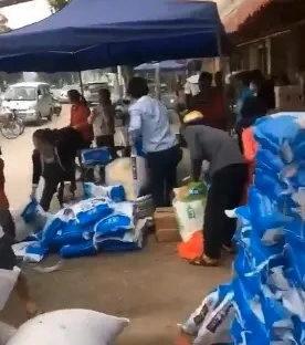 大陸多地搶糧之際 廣東村民瘋搶食鹽