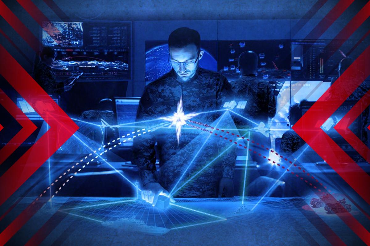 中共觸碰人類AI之痛,引發美虛擬戰爭。(大紀元香港新聞中心)