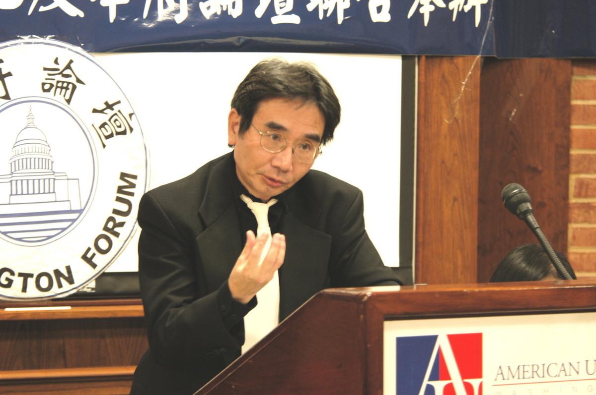 普林斯頓中國學社執行主席陳奎德。圖為資料照。(李浩/大紀元)