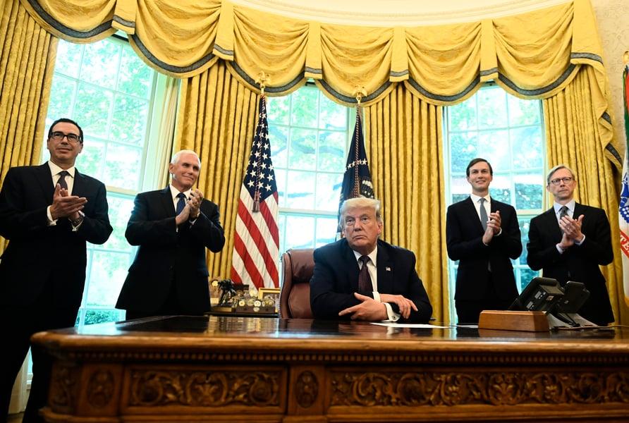 特朗普:巴林同意與以色列關係正常化