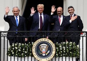 特朗普完成三大動作 有望平息中東千年戰火