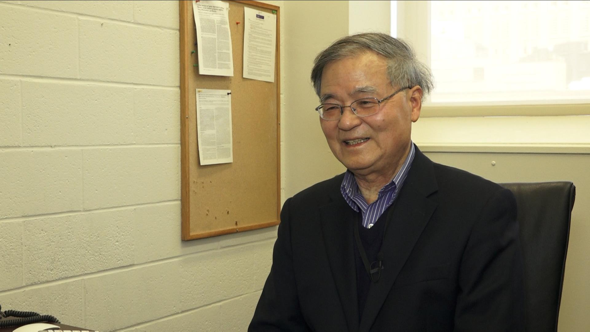 紐約大學環境醫學系教授湯猛雄(Moon-Shong-Tang)。(唐誠/大紀元)