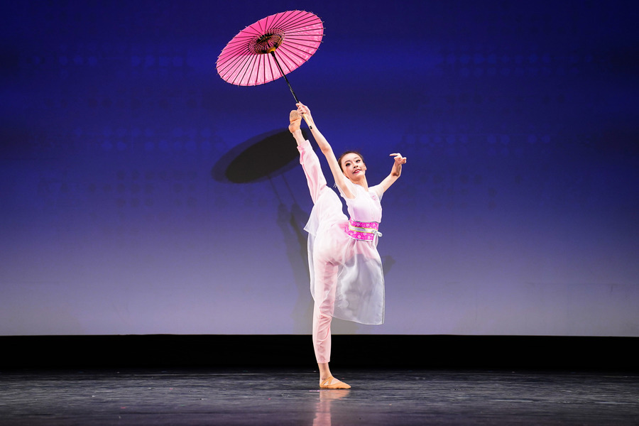 【圖攝】第九屆中國古典舞複賽少年女子組風采