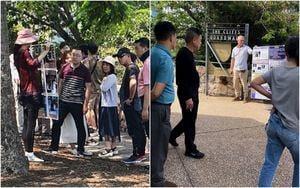 澳洲景點上 中國遊客退出中共的小故事