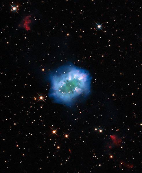 來自宇宙「鑽石項鍊」 NASA公佈星象圖