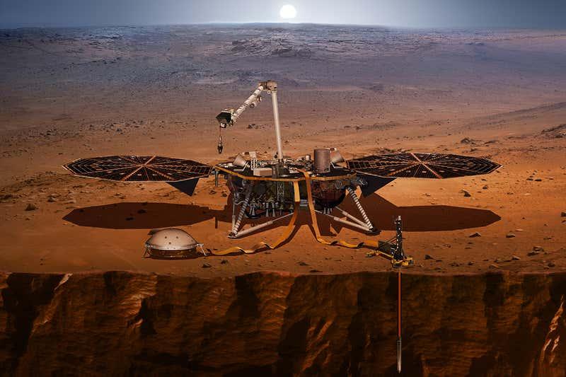 NASA首次探測到火星大地震 歷時90分鐘