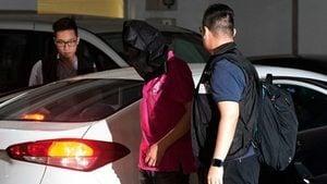 襲擊反送中示威者 香港11白衣兇徒被捕