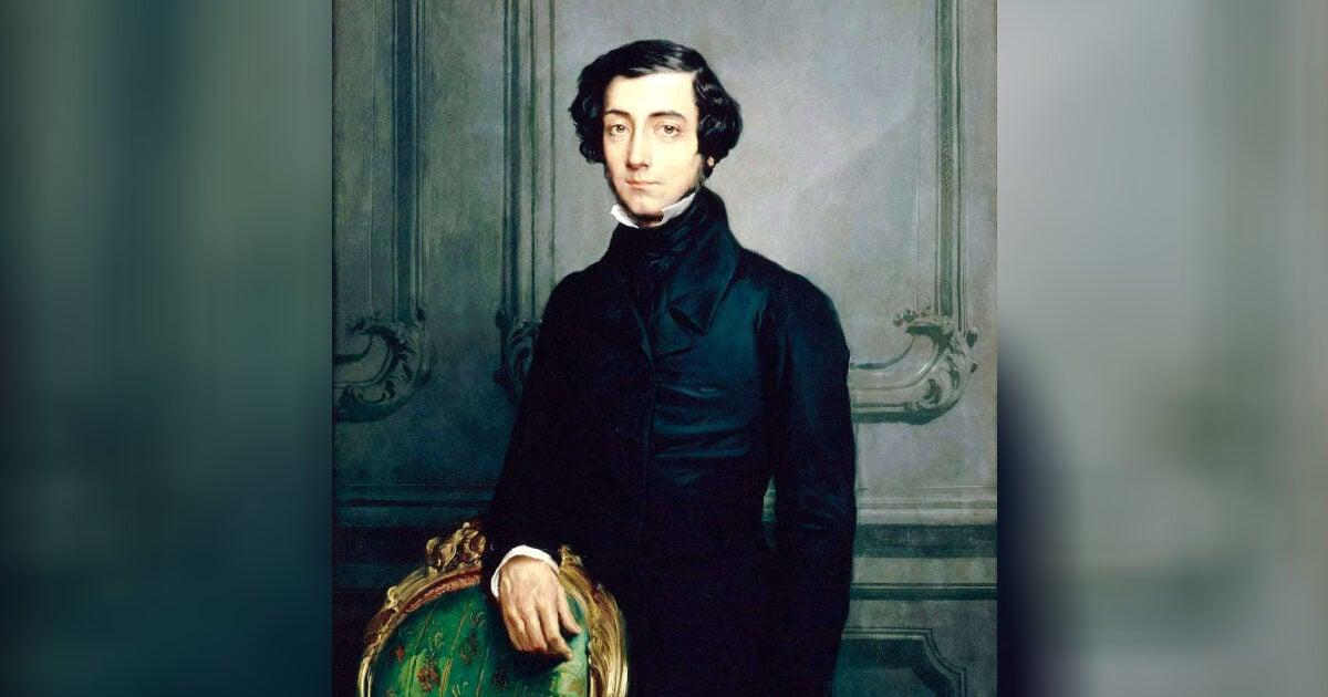 亞歷西斯·德·托克維爾(Alexis de Tocqueville)。(公有領域)