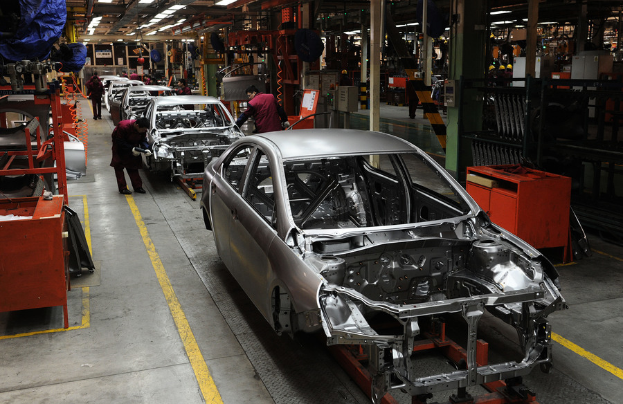 經濟堪憂 大陸11月汽車庫存超警戒線