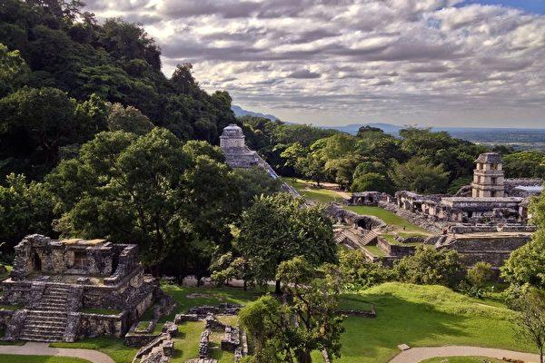 激光探測 考古學家揭秘瑪雅大規模建築遺址