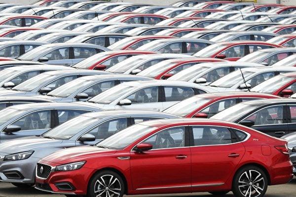 中國九家上市車企虧損 八成經銷商銷量下滑