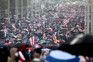白俄羅斯選舉違規且鎮壓抗議者 美擴大制裁