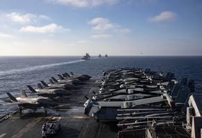 沈舟:美軍新艦隊悄悄部署 釋放新信號