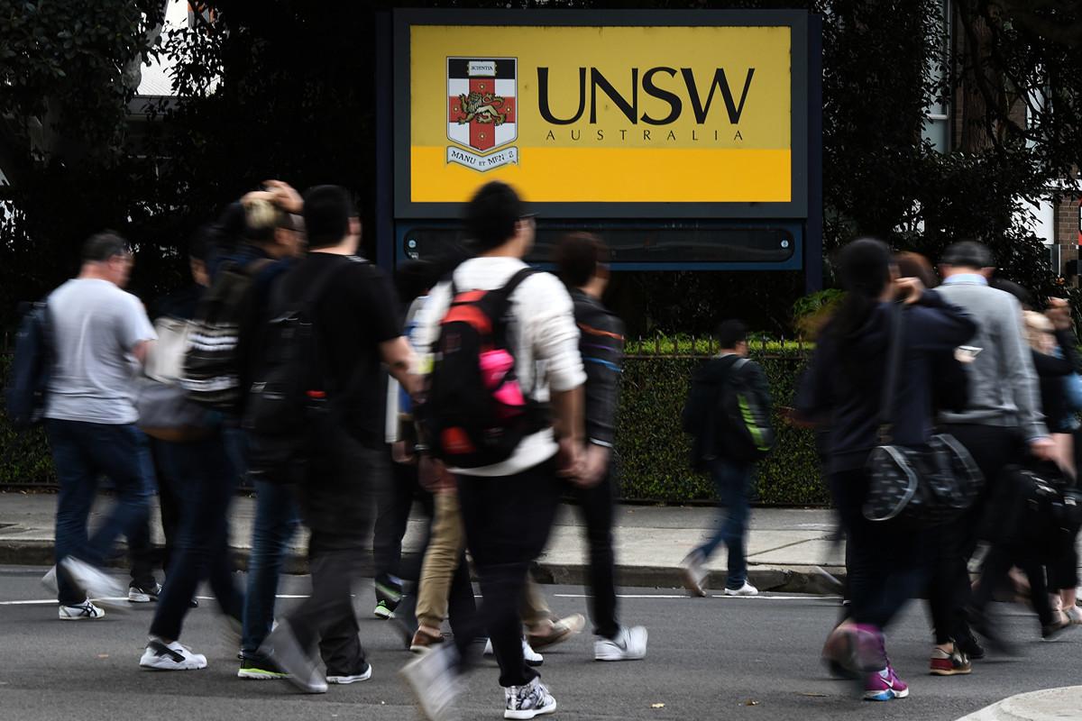 中國留學生是澳洲高校最大的國際生源。(澳新社)