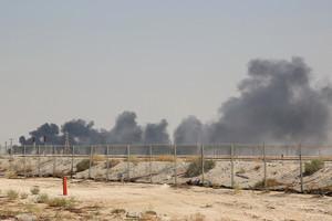 沙特油廠遭襲 國際油價漲幅近30年最高