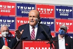 特朗普團隊:三個搖擺州將舉行大選公開聽證會