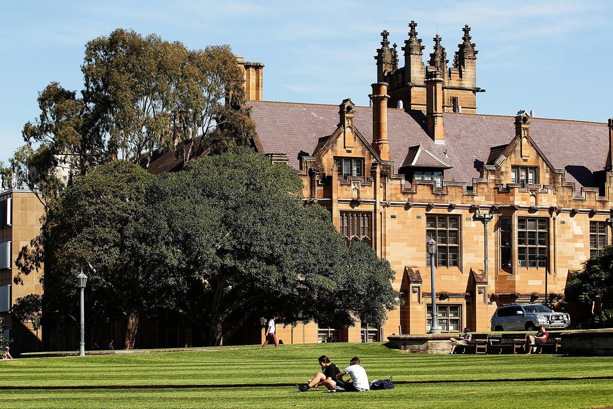 全球高等教育分析機構QS在2021年9月23日發布的年度排名顯示,悉尼大學和墨爾本大學的畢業生就業競爭力進入全球前10強。圖為2016年4月6日拍攝到的悉尼大學校園。(Brendon Thorne/Getty Images)