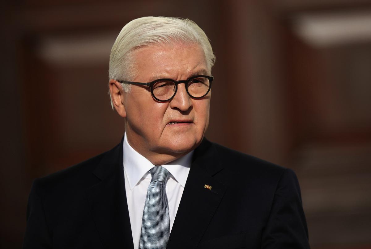 德國總統施泰因邁爾在中國進行為期5天的國事訪問,12月7日去了四川大學並發表演講,大批馬克思,陸媒噤聲。資料照。 (Sean Gallup/Getty Images)