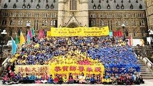 加拿大政要賀法輪大法洪傳28周年(3)