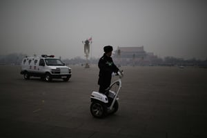 中共交通罰款3千億 人大代表曝電子眼藏內情
