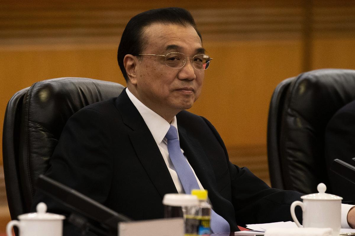 中共國務院總理李克強資料照。(AFP)