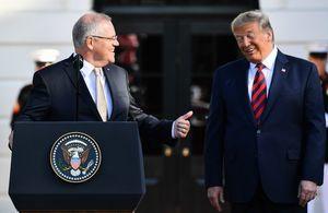 拒評美國會暴力事件與特朗普有關 澳總理獲挺