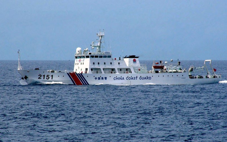 中共在南海東海動作頻 引發緊張局勢
