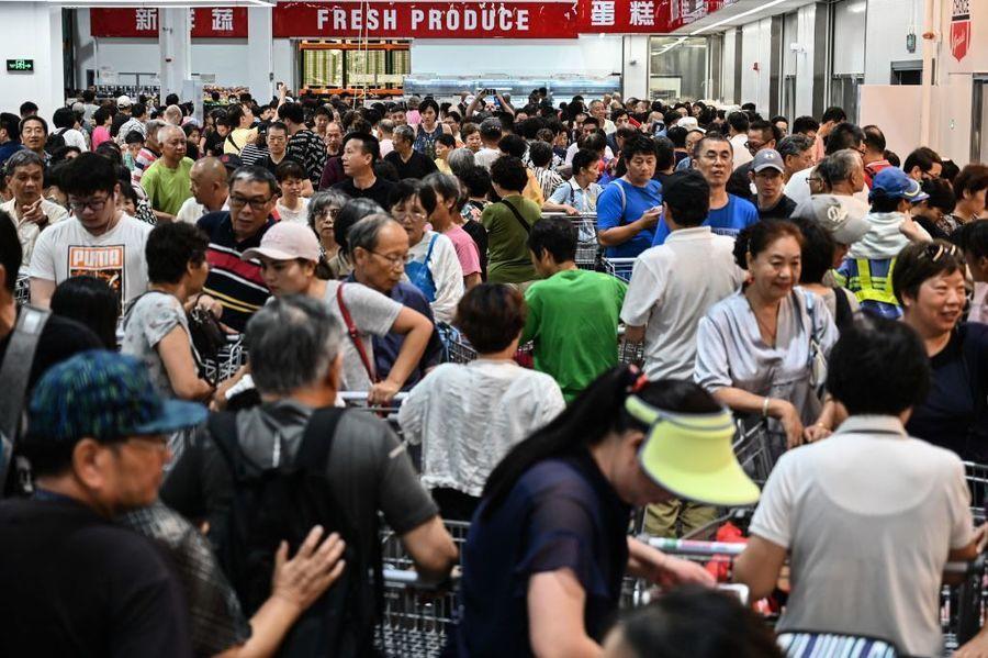 Costco上海開業第2天仍火爆 國人為何愛美商