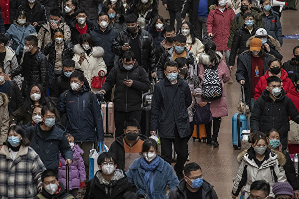 中共肺炎爆發,民眾憂心忡忡。(Kevin Frayer/Getty Images)