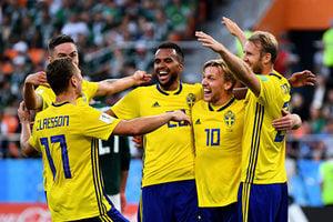 F組末輪:瑞典3球完勝墨西哥 攜手晉級