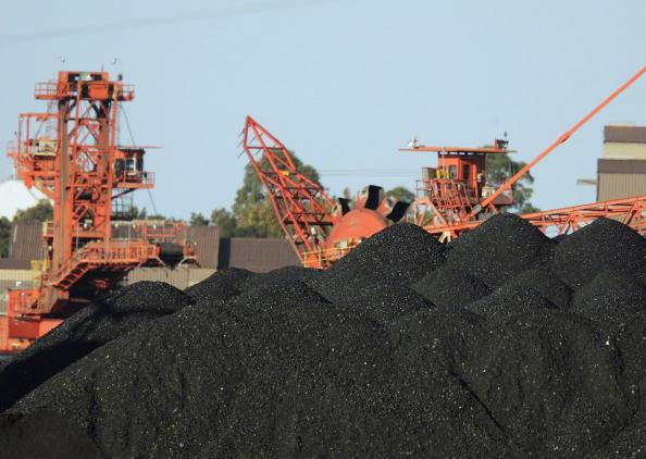 圖為一澳洲煤炭公司。(Photo by Corey Davis/Getty Images)