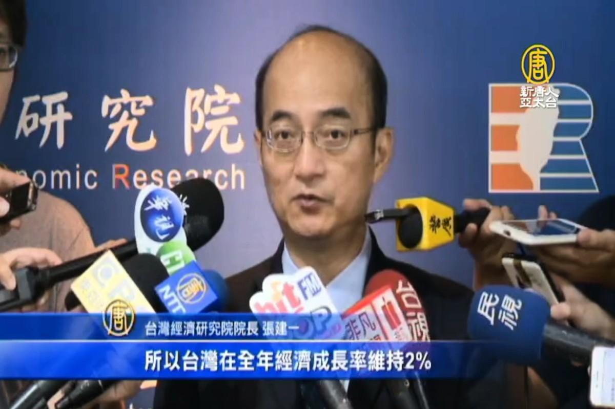 圖為台灣經濟研究院院長張建一。(授權影片截圖)