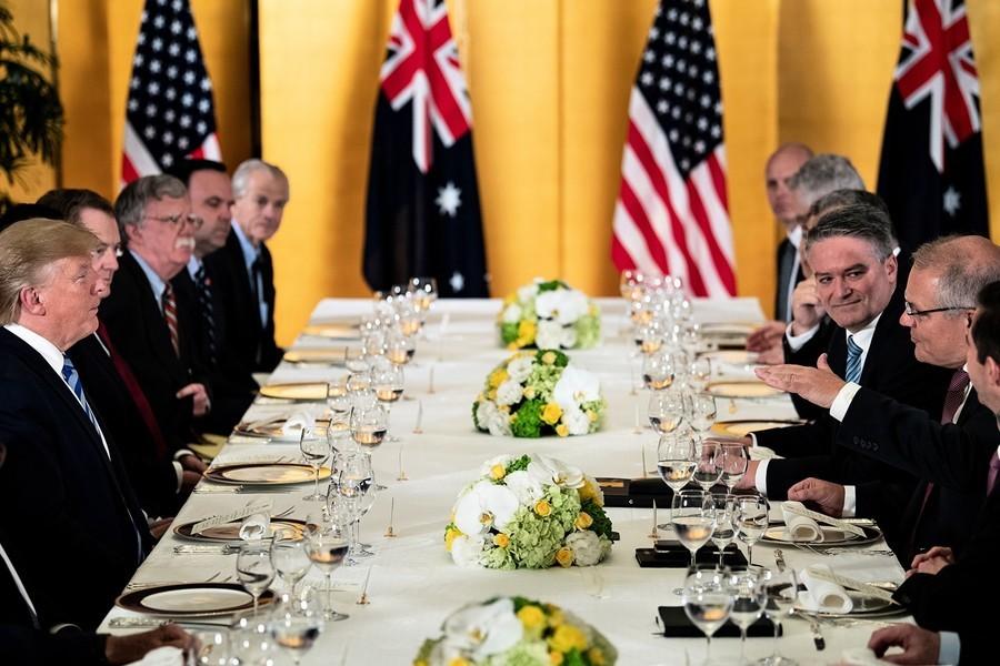 G20峰會 特朗普晚宴會澳總理 談中美貿易