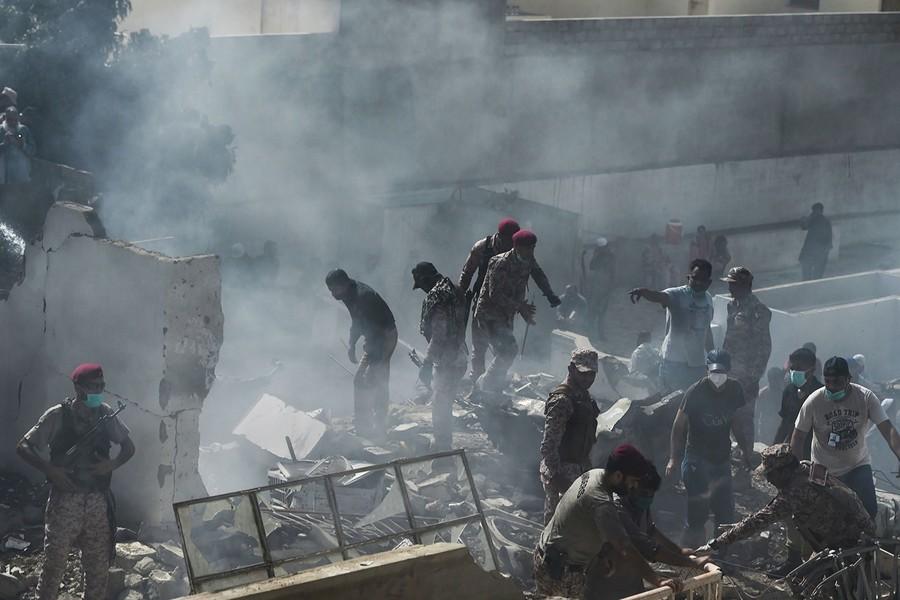 巴基斯坦客機墜毀 機上107人全數罹難