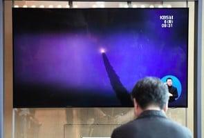 北韓發射兩枚彈道導彈 日本譴責威脅和平